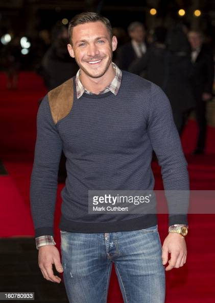 Kirk Norcross attends the UK premiere of 'Run For Your Wife' at Odeon Leicester Square on February 5 2013 in London England