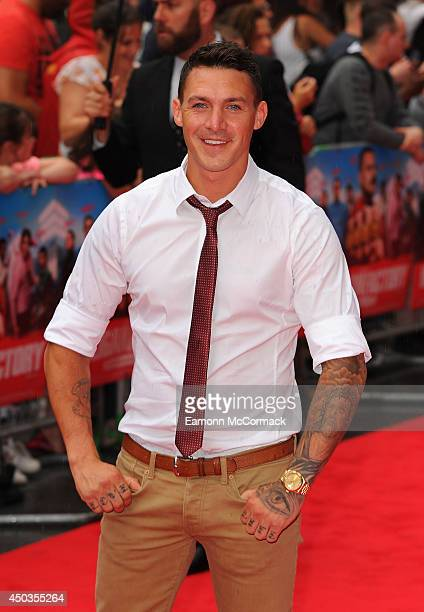 Kirk Norcross attends the UK Premiere of 'The Hooligan Factory' at Odeon West End on June 9 2014 in London England