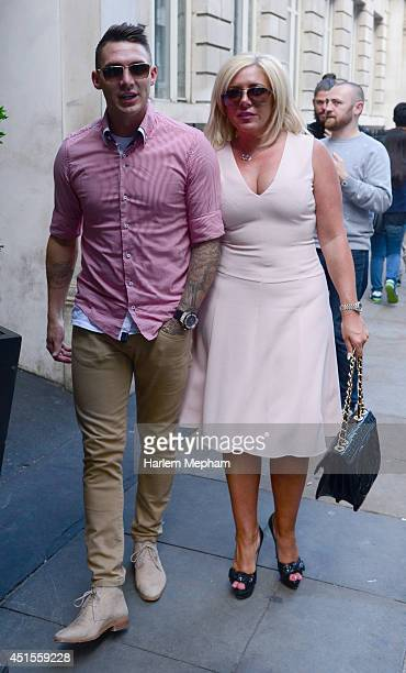 Kirk Norcross sighted arriving to the Soho Sanctum on July 1 2014 in London England