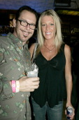 Kirk Pengilly and Jacque Hunter during Rip Curl Malibu Pro Launch Party at Malibu Inn in Malibu California United States