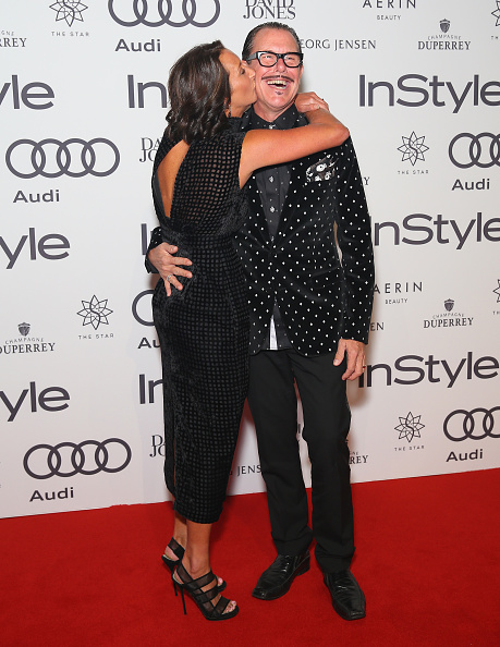 instyle and audi women of style awards arrivals