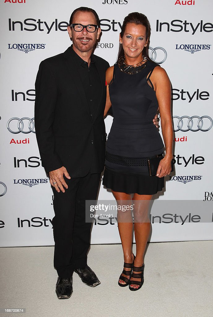 Kirk Pengilly and Layne Beachley arrive at the 2013 Instyle and Audi Women of Style Awards at Carriageworks on May 14, 2013 in Sydney, Australia.