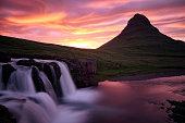 Kirkjufell Mountain Sunset