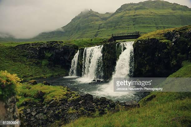 Kirkjufellsfoss waterfall in Iceland