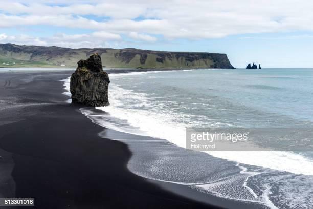 Kirkjufjara beach or Black Sand Beach