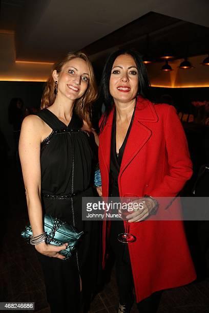 Kirkland Ellis LLP Partner Nadia Murad and fashion designer Catherine Malandrino attend Nigel Barker's 'Models Of Influence' book release event with...