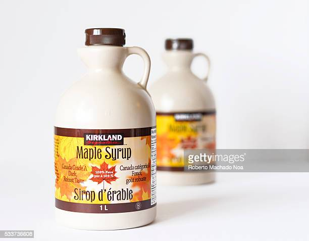 Kirkland Maple syrup bottlesMaple syrup is a syrup usually made from the xylem sap of sugar maple red maple or black maple trees