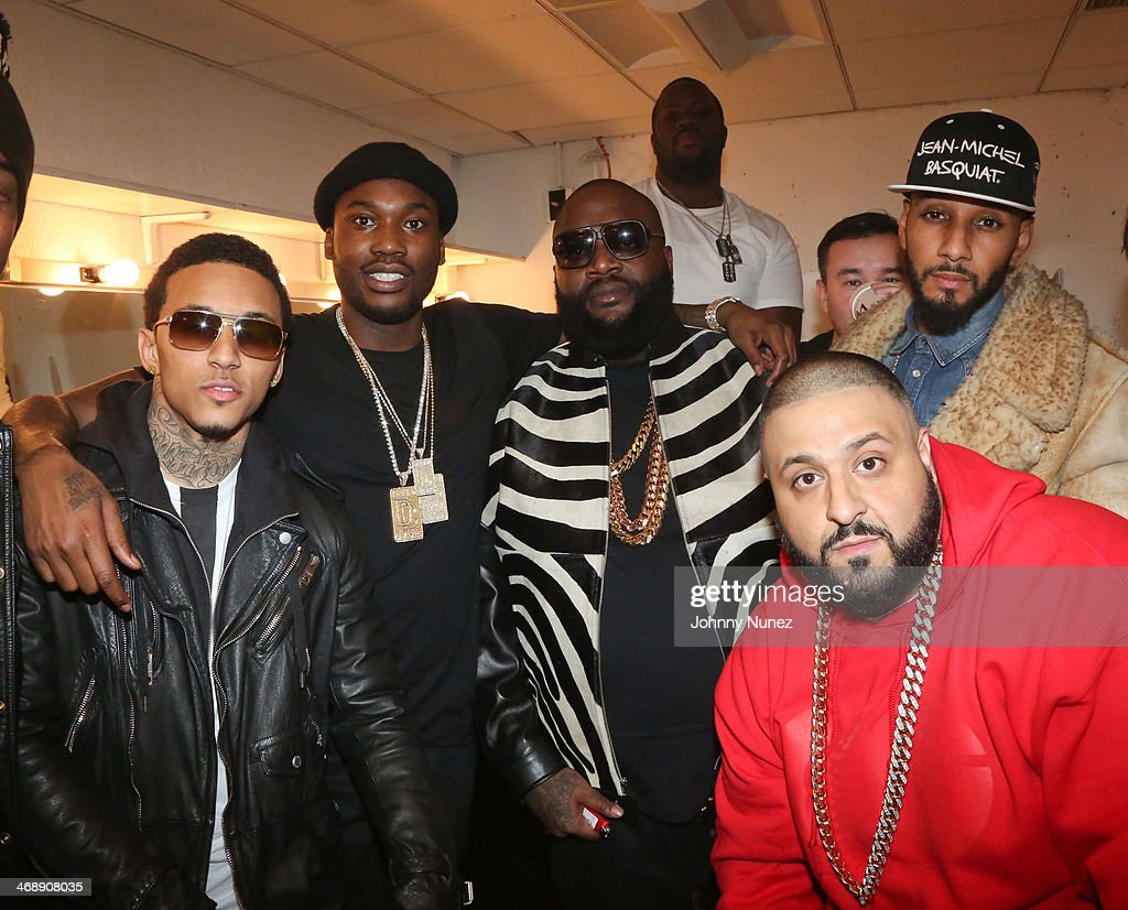 <a gi-track='captionPersonalityLinkClicked' href=/galleries/search?phrase=Kirko+Bangz&family=editorial&specificpeople=8955853 ng-click='$event.stopPropagation()'>Kirko Bangz</a>, <a gi-track='captionPersonalityLinkClicked' href=/galleries/search?phrase=Meek+Mill&family=editorial&specificpeople=7187702 ng-click='$event.stopPropagation()'>Meek Mill</a>, Rick Ross, <a gi-track='captionPersonalityLinkClicked' href=/galleries/search?phrase=Swizz+Beatz&family=editorial&specificpeople=567154 ng-click='$event.stopPropagation()'>Swizz Beatz</a> and <a gi-track='captionPersonalityLinkClicked' href=/galleries/search?phrase=DJ+Khaled&family=editorial&specificpeople=577862 ng-click='$event.stopPropagation()'>DJ Khaled</a> attend the Rick Ross 'Mastermind' Listening Event at New World Stages on February 11, 2014 in New York City.