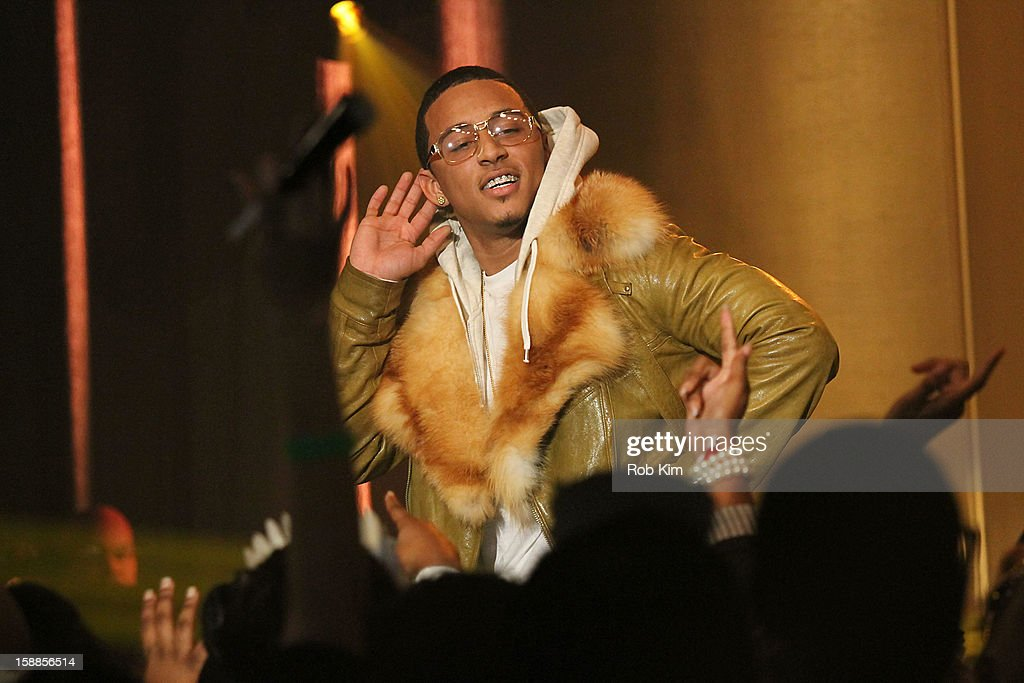 <a gi-track='captionPersonalityLinkClicked' href=/galleries/search?phrase=Kirko+Bangz&family=editorial&specificpeople=8955853 ng-click='$event.stopPropagation()'>Kirko Bangz</a> performs at BET's '106 & Party' 2013 New Years Eve party at BET Studios on December 17, 2012 in New York City.