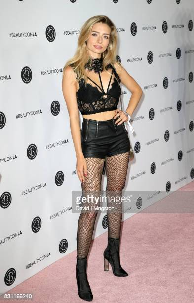 Kirsten Collins attends Day 2 of the 5th Annual Beautycon Festival Los Angeles at the at Los Angeles Convention Center on August 13 2017 in Los...