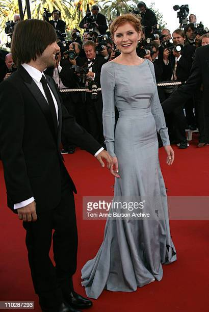Kirsten Dunst and Jason Schwartzman during 2006 Cannes Film Festival 'Marie Antoinette' Premiere at Palais des Festival in Cannes France