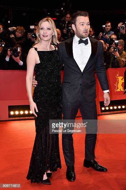 Kirsten Dunst and Joel Edgerton attend the 'Midnight Special' premiere during the 66th Berlinale International Film Festival Berlin at Berlinale...