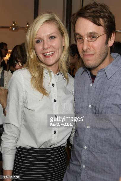 Kirsten Dunst and Scott Sternberg attend Band of Outsiders Presentation Powered by SONY CIERGE at Fashion Week at Milk Studios on September 6 2008 in...