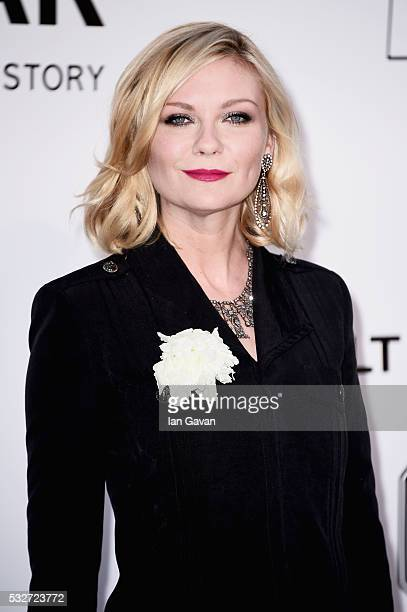 Kirsten Dunst arrives at amfAR's 23rd Cinema Against AIDS Gala at Hotel du CapEdenRoc on May 19 2016 in Cap d'Antibes France
