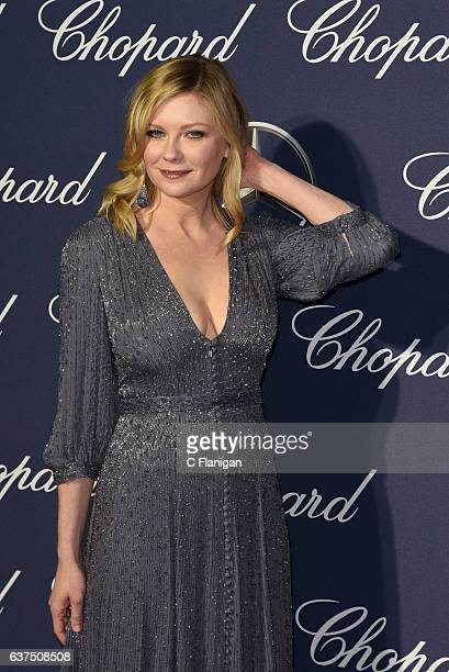 Kirsten Dunst arrives at the 28th Annual Palm Springs International Film Festival Film Awards Gala at Palm Springs Convention Center on January 2...