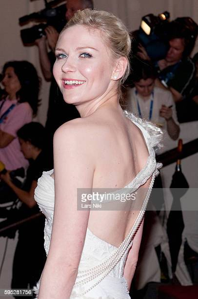 Kirsten Dunst attends 'American Woman Fashioning A National Identity' Costume Institute Gala at The Metropolitan Museum of Art in New York City
