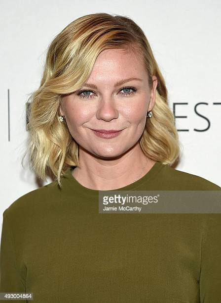 Kirsten Dunst attends PaleyFest New York 2015 'Fargo' at The Paley Center for Media on October 16 2015 in New York City