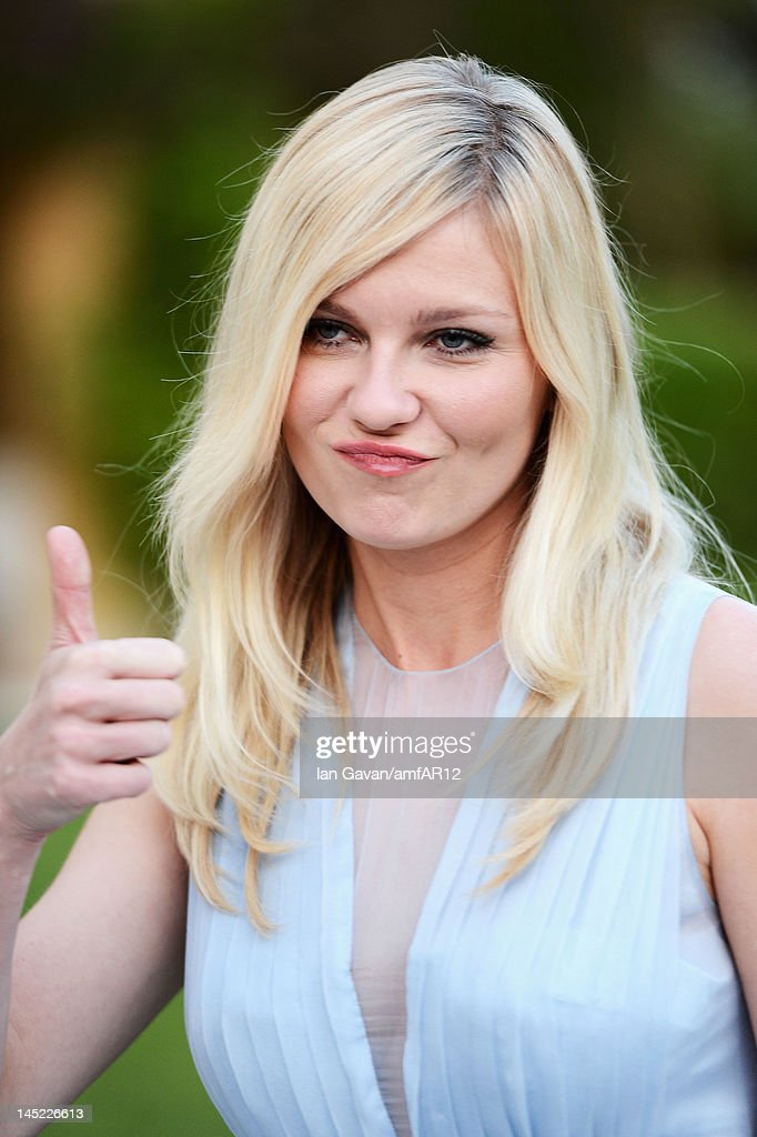 <a gi-track='captionPersonalityLinkClicked' href=/galleries/search?phrase=Kirsten+Dunst&family=editorial&specificpeople=171590 ng-click='$event.stopPropagation()'>Kirsten Dunst</a> attends the 2012 amfAR's Cinema Against AIDS during the 65th Annual Cannes Film Festival at Hotel Du Cap on May 24, 2012 in Cap D'Antibes, France.