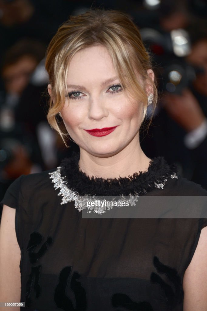 <a gi-track='captionPersonalityLinkClicked' href=/galleries/search?phrase=Kirsten+Dunst&family=editorial&specificpeople=171590 ng-click='$event.stopPropagation()'>Kirsten Dunst</a> attends the 'Inside Llewyn Davis' Premiere during the 66th Annual Cannes Film Festival at Grand Theatre Lumiere on May 19, 2013 in Cannes, France.