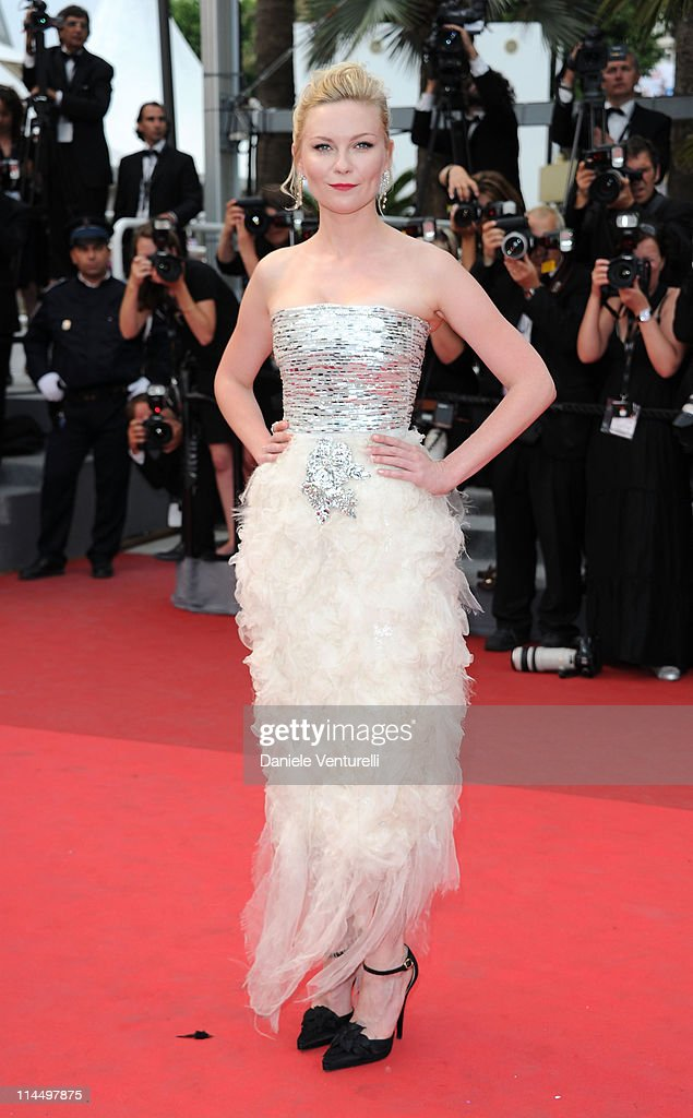 Kirsten Dunst attends the 'Les Bien-Aimes' Premiere and Closing Ceremony during the 64th Annual Cannes Film Festival at the Palais des Festivals on May 22, 2011 in Cannes, France.