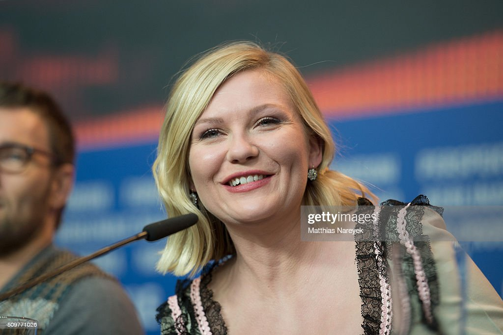 Kirsten Dunst attends the 'Midnight Special' press conference during the 66th Berlinale International Film Festival Berlin at Grand Hyatt Hotel on February 12, 2016 in Berlin, Germany.
