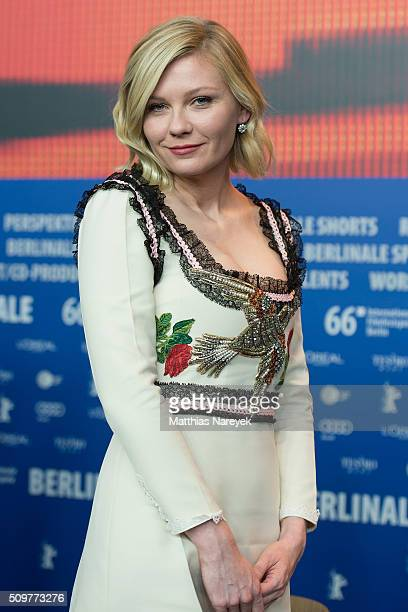 Kirsten Dunst attends the 'Midnight Special' press conference during the 66th Berlinale International Film Festival Berlin at Grand Hyatt Hotel on...