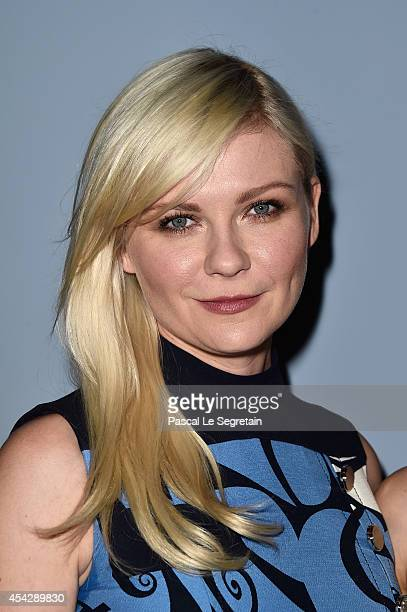 Kirsten Dunst attends the 'Miu Miu Women's Tales #8' Premiere during the 71st Venice Film Festival on August 28 2014 in Venice Italy