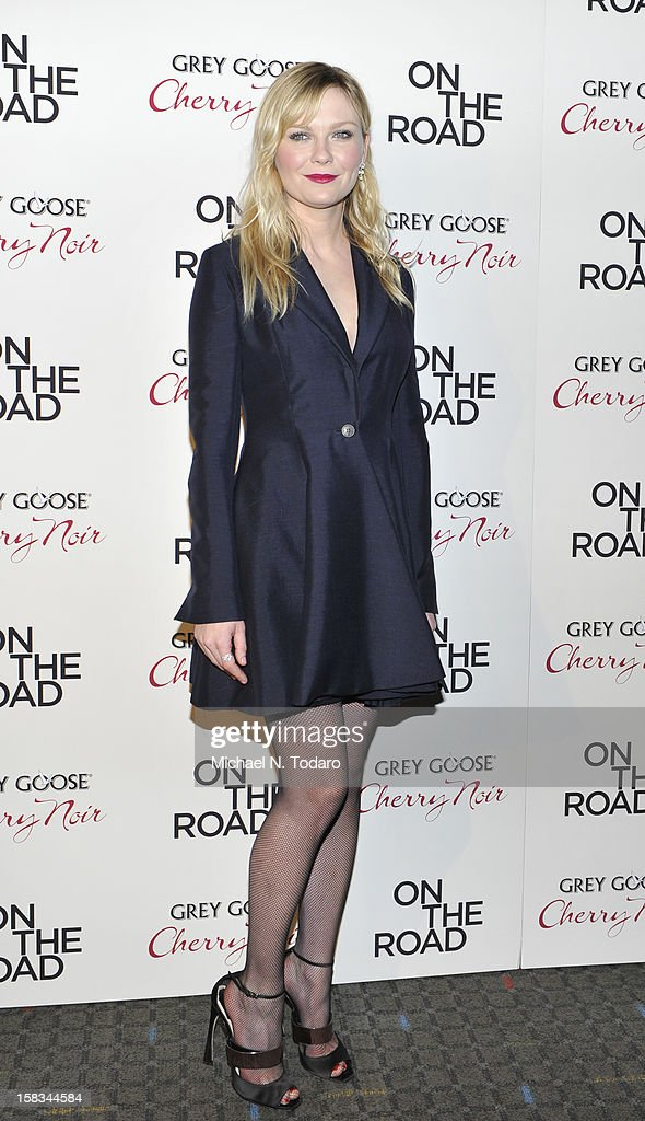 Kirsten Dunst attends the 'On The Road' premiere at SVA Theater on December 13, 2012 in New York City.