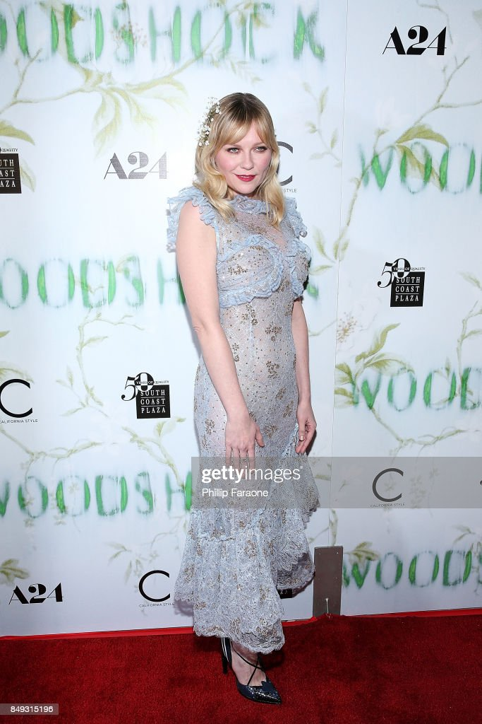 Kirsten Dunst attends the premiere of A24's 'Woodshock' at ArcLight Cinemas on September 18, 2017 in Hollywood, California.