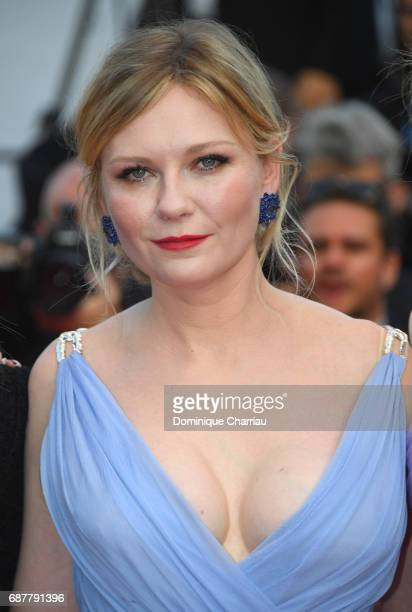 Kirsten Dunst attends the 'The Beguiled' screening during the 70th annual Cannes Film Festival at Palais des Festivals on May 24 2017 in Cannes France