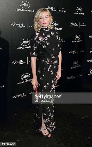 Kirsten Dunst attends the 'Women in Motion' Prize Reception part of The 69th Annual Cannes Film Festival on May 15 2016 in Cannes France