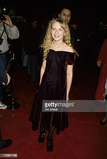 Kirsten Dunst during 'Interview With A Vampire' Los Angeles Premiere at Manns Village Theater in Westwood California United States