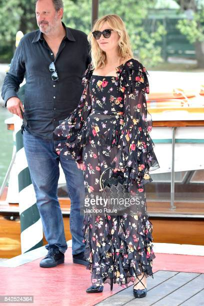 Kirsten Dunst is seen during the 74 Venice Film Festival on September 4 2017 in Venice Italy