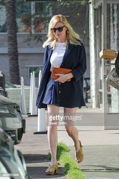 Kirsten Dunst is seen on February 18 2015 in Los Angeles California