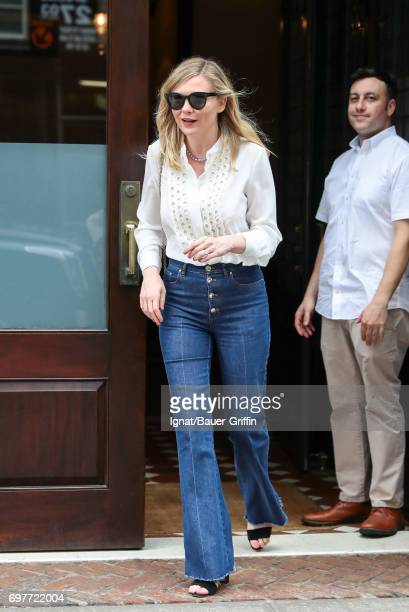 Kirsten Dunst is seen on June 19 2017 in New York City