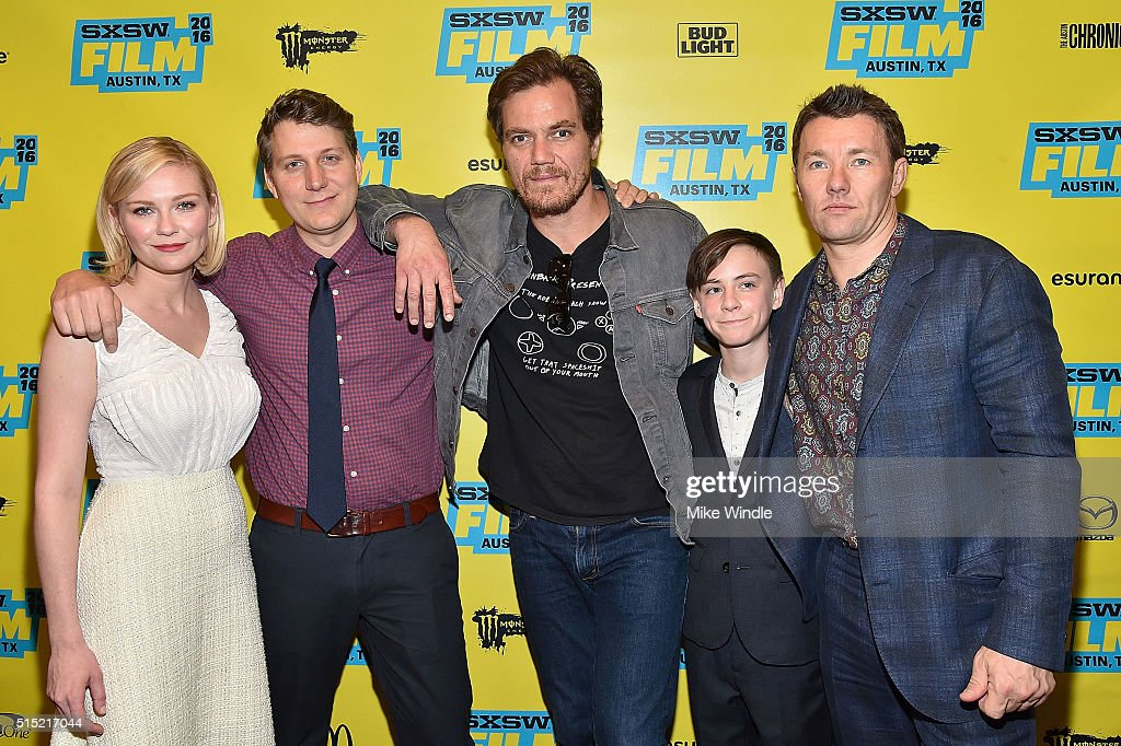 Kirsten Dunst, Jeff Nichols, Michael Shannon, Jaeden Lieberher and Joel Edgerton attend the screening of 'Midnight Special' during the 2016 SXSW Music, Film + Interactive Festival at Paramount Theatre on March 12, 2016 in Austin, Texas.
