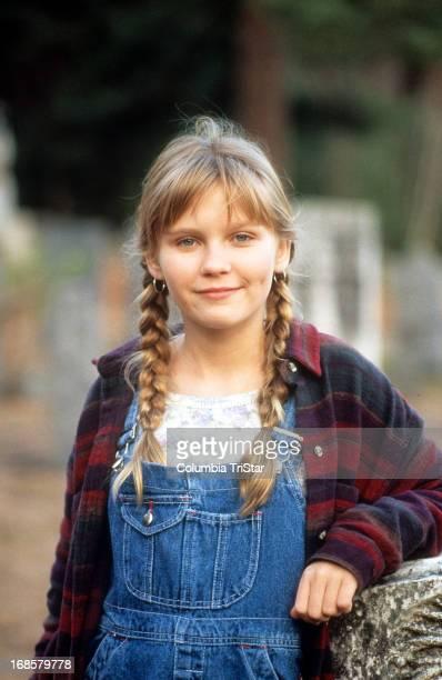 Kirsten Dunst on set of the film 'Jumanji' 1995