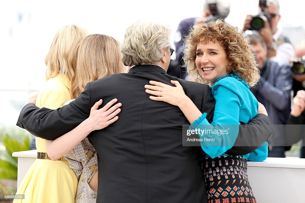 Kirsten Dunst, Vanessa Paradis, George Miller and Valeria Golino attend the Jury Photocall during the 69th Annual Cannes Film Festival at the Palais des Festivals on May 11, 2016 in Cannes, France.