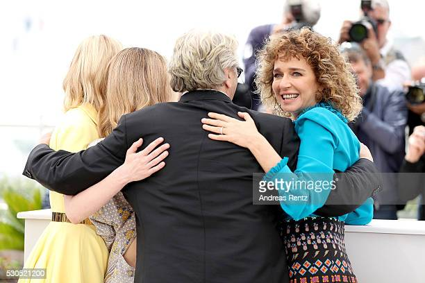 Kirsten Dunst Vanessa Paradis George Miller and Valeria Golino attend the Jury Photocall during the 69th Annual Cannes Film Festival at the Palais...