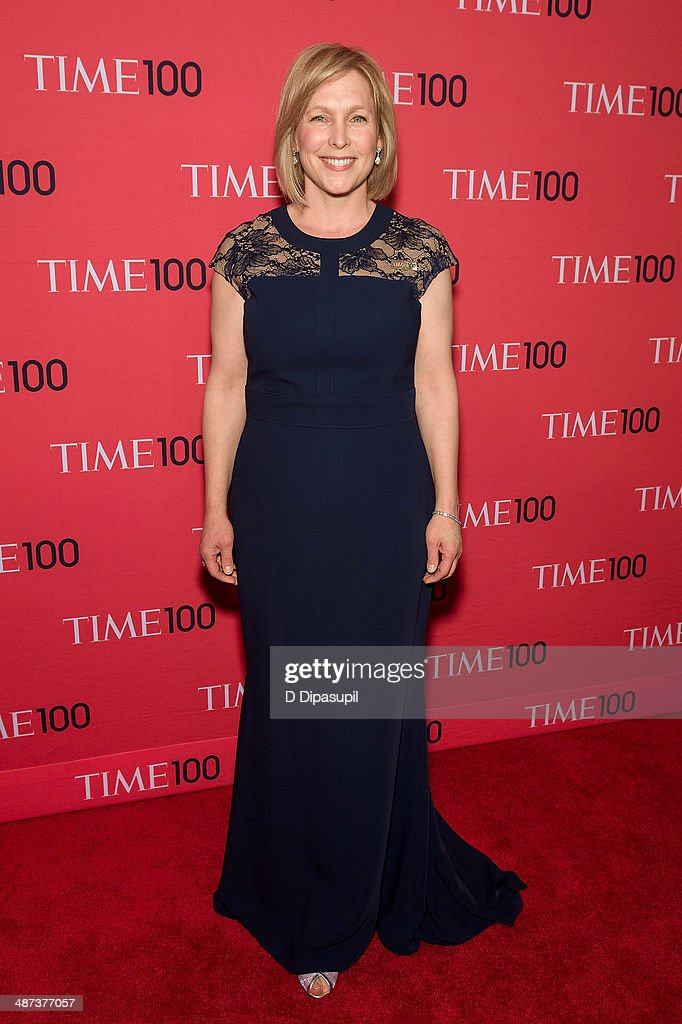 Kirsten Gillibrand attends the 2014 Time 100 Gala at Frederick P. Rose Hall, Jazz at Lincoln Center on April 29, 2014 in New York City.