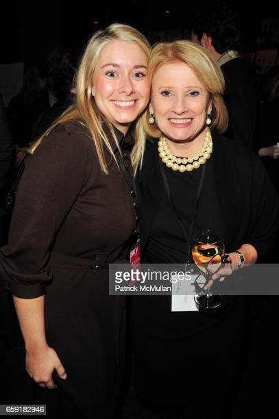 Kirsten johnson and Mary Ellis Harwood attend DELTA SKY Magazine launch party at Whiskey Park NYC on February 24 2009