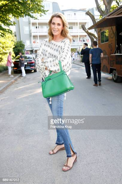 Kirsten Roschlaub during Til Schweiger's opening of his 'Barefoot Hotel' on May 28 2017 in Timmendorfer Strand Germany