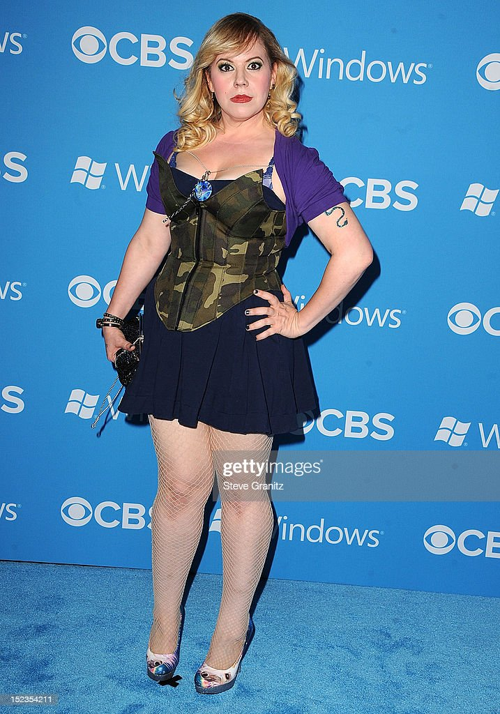 Kirsten Vangsness arrives at the CBS 2012 Fall Premiere Party at Greystone Manor Supperclub on September 18 2012 in West Hollywood California