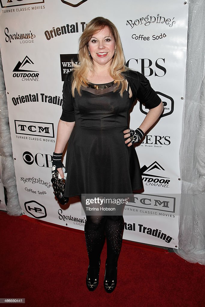 <a gi-track='captionPersonalityLinkClicked' href=/galleries/search?phrase=Kirsten+Vangsness&family=editorial&specificpeople=2097625 ng-click='$event.stopPropagation()'>Kirsten Vangsness</a> attends the 2nd annual Borgnine movie star gala honoring actor Joe Mantegna at Sportman's Lodge on February 1, 2014 in Studio City, California.