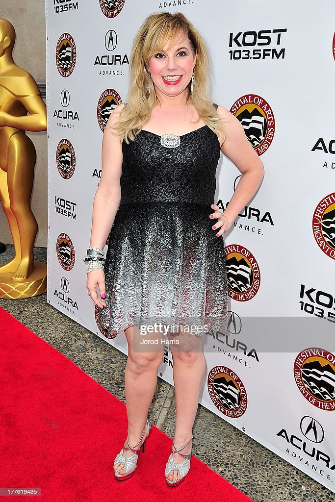 Kirsten Vangsness attends the Acura/KOST celebrity benefit concert and pageant on August 24, 2013 in Laguna Beach, California.