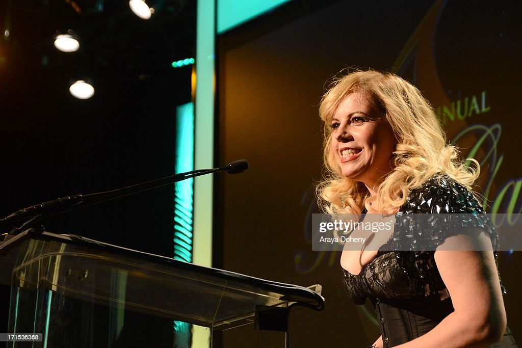 Kirsten Vangsness hosts The Thirst Project 4th annual gala and performance at The Beverly Hilton Hotel on June 25, 2013 in Beverly Hills, California.
