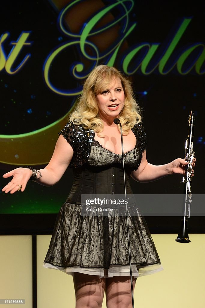 <a gi-track='captionPersonalityLinkClicked' href=/galleries/search?phrase=Kirsten+Vangsness&family=editorial&specificpeople=2097625 ng-click='$event.stopPropagation()'>Kirsten Vangsness</a> hosts The Thirst Project 4th annual gala and performance at The Beverly Hilton Hotel on June 25, 2013 in Beverly Hills, California.