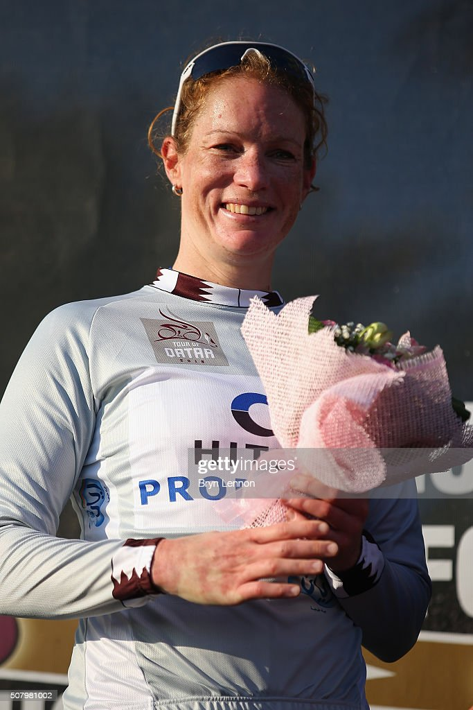 <a gi-track='captionPersonalityLinkClicked' href=/galleries/search?phrase=Kirsten+Wild&family=editorial&specificpeople=5701453 ng-click='$event.stopPropagation()'>Kirsten Wild</a> of The Netherlands and Hitec Products also took the lead in the points classification after stage one of the 2016 Ladies Tour of Qatar from Qatar University to Qatar University on February 2, 2016 in Doha, Qatar. The stage will also serve as a test event for Doha 2016 World Road Race Championships in October.