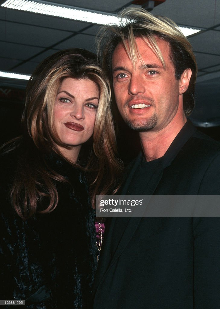 <a gi-track='captionPersonalityLinkClicked' href=/galleries/search?phrase=Kirstie+Alley&family=editorial&specificpeople=206297 ng-click='$event.stopPropagation()'>Kirstie Alley</a> and James Wilder during New York Premiere of 'Welcome To Sarajevo' at Sony Theater 19th Street in New York City, New York, United States.