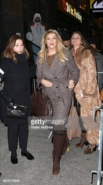 Kirstie Alley attends the Broadway Opening Night Performance of The Manhattan Theatre Club's production of 'Constellations' at the Samuel J Friedman...